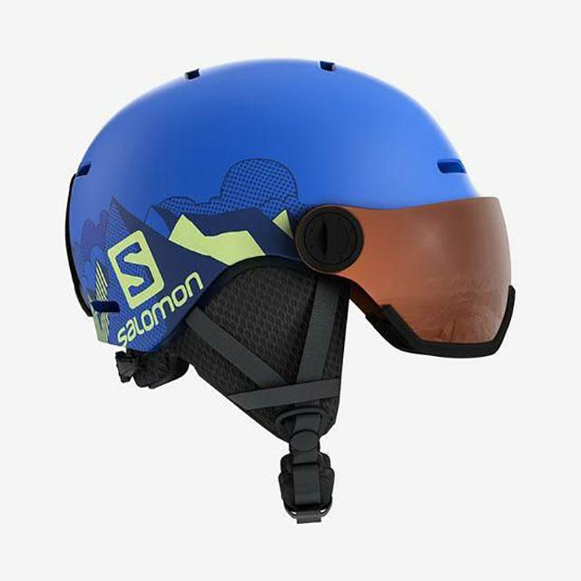 サロモン SALOMON ジュニア バイザー ヘルメット GROM VISOR L40539600 【2020-21モデル】
