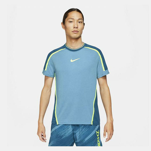 ナイキ NIKE メンズ トレーニング トップス Tシャツ ナイキ DF SC S/S トップ DD1727 469 ダッチブルー/コートブルー/(ボルト) 【2021FW】