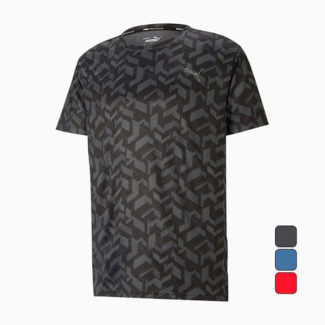 プーマ PUMA メンズ トレーニング ウェア Tシャツ トレーニング パフォーマンス AOP 半袖 Tシャツ 520686