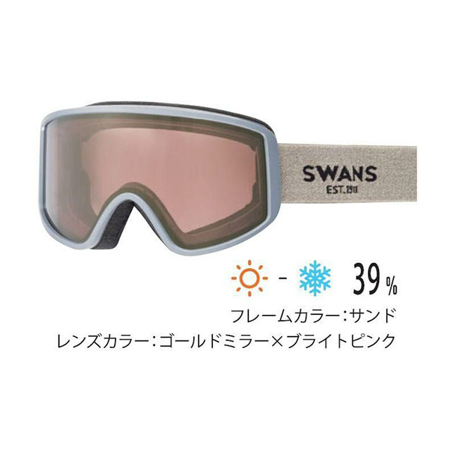 【予約販売中】 スワンズ SWANS スキー 眼鏡対応 ゴーグル 180-MDH 180-MDH 【21-22モデル】