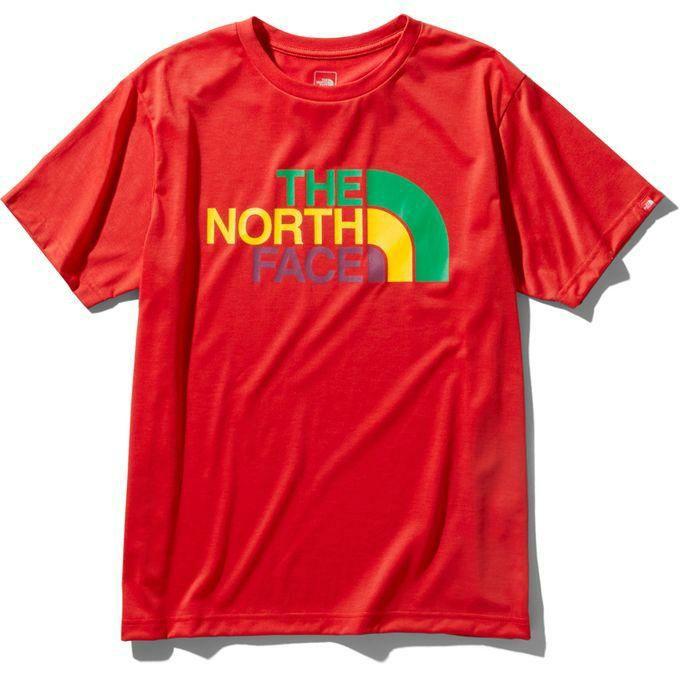 ザ・ノースフェイス THE NORTH FACE メンズ Tシャツ 半袖 ショートスリーブカラフルロゴティー NT32037 TR