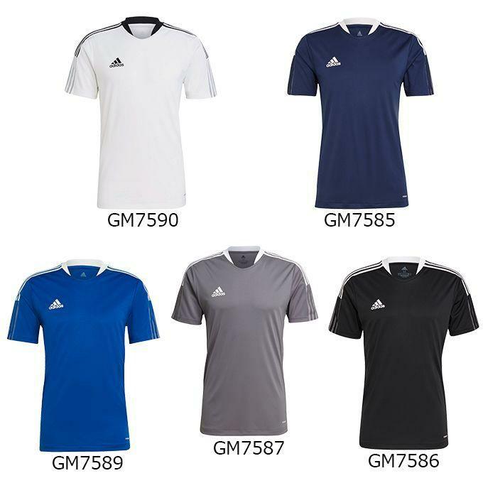 アディダス adidas メンズ サッカー シャツ 半袖 TIRO21 トレーニングジャージー 44906
