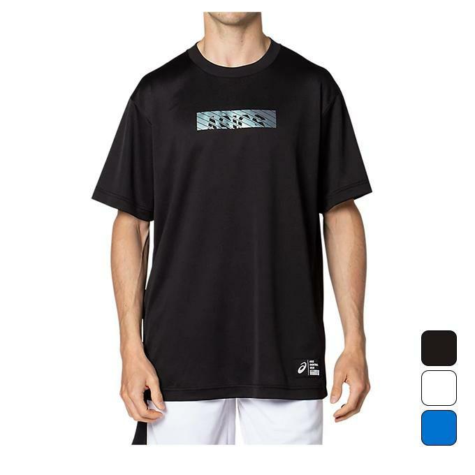 アシックス ASICS メンズ バスケットボール ウエア 半袖トップス グラフィックショートスリーブトップス 2063A180