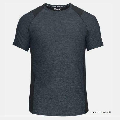 アンダーアーマー UNDER ARMOR メンズ トレーニング Tシャツ 半袖 UA MK-1 ショートスリーブ 1306428 002
